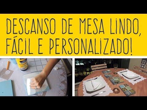 DIY - DESCANSO DE PANELA