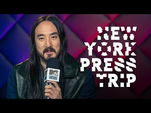 New York / Neon Future Press Trip - On the Road w/ Steve Aoki #123