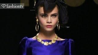 Moschino Fall/Winter 2012/13 Full Show Milan Fashion