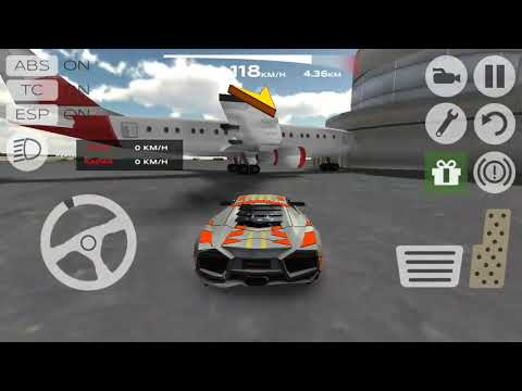 Funny race car simulation 2015