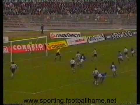 Belenenses - 0 Sporting - 1 1990/1991