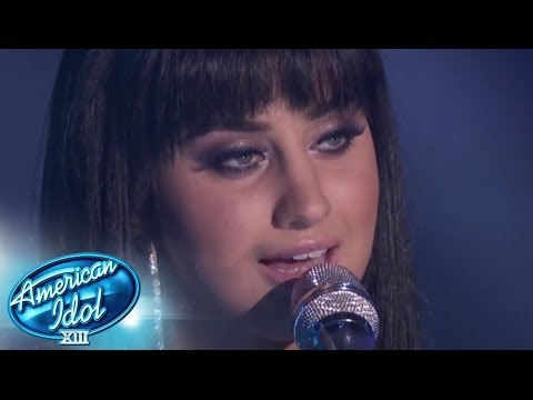 "Top 2 - Jena Irene ""Can't Help Falling In Love"" - AMERICAN IDOL SEASON XIII"