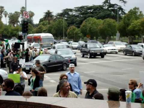 Protest for Iran  in Los Angeles July 2009
