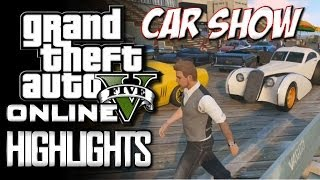 GTA 5 Online The Boist Army Car Show (GTA 5 Funny