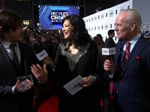 40th Annual People's Choice Awards - Red Carpet Interview: Norman Reedus