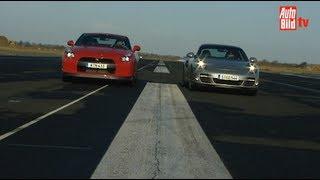 Porsche Turbo gegen Nissan GT-R Teil 1 - Duell der 500 PS Boliden videos