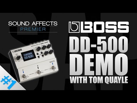 Boss DD-500 Multi Digital Delay Effects Pedal