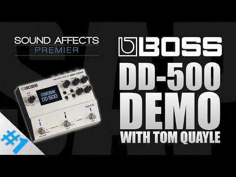 Boss DD-500 Multi Digital Delay Effects Pedal for Guitar