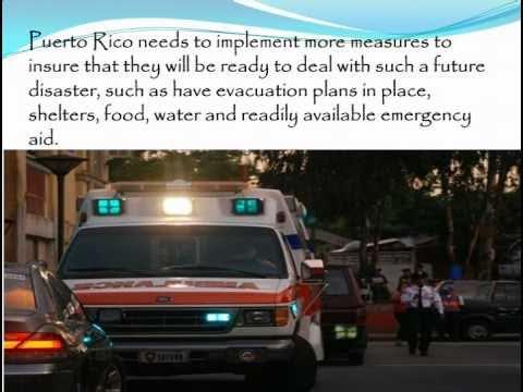 Case Study: Puerto Rico\'s Earthquake and Tsunami Danger