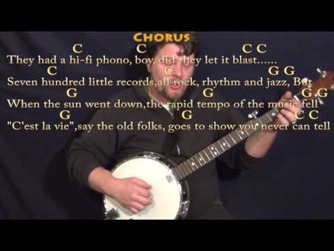 You Never Can Tell (Chuck Berry) Banjo Cover Lesson in C with Chords/Lyrics - C G