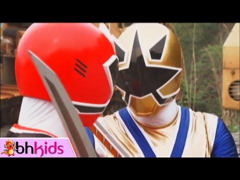 Siêu Nhân Thần Kiếm - Tập 17+18 Full HD : Siêu Nhân Vàng Kim Xuất Hiện