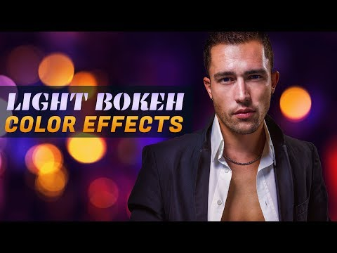 Night Light Bokeh Color Effects Photoshop Tutorial - Mixing Color Grading