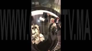 فيديو حصري من باريس..بعد إطلاق النار و مقتل شرطيين..البوليس حابسين المواطنين فـZara |