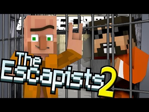 Minecraft: The Escapists 2 | BLACK MARKET TRADING!! [2]