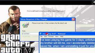 How To Install And Download GTA IV Successfully.wmv