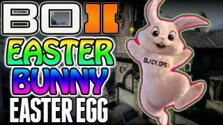 """BO2 """"Secret Easter Bunny Easter Egg"""" On Standoff Black"""