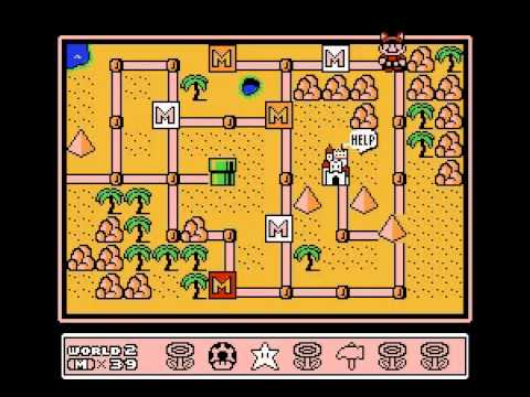 Super Mario Bros 3 - Super Mario Bros. 3 (NES) - Playthrough part 1/2 - User video