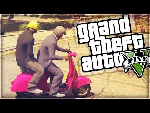 GTA 5 Funny Moments | Faggio Rally & Farm Racing (GTA V Online)