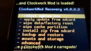 Clockwork Mod For/para Galaxy Ace: Install Or Remove