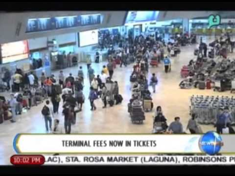 NewsLife: Terminal fees to be included in int'l airline tickets starting October || June 11, 2014