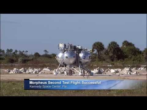 Morpheus Lander's Successful Second Free Flight Test | NASA Space Science