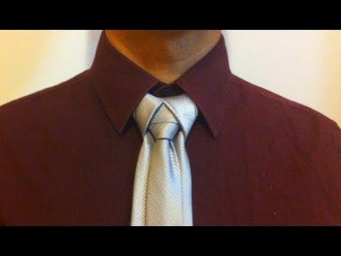 como hacer el nudo de corbata