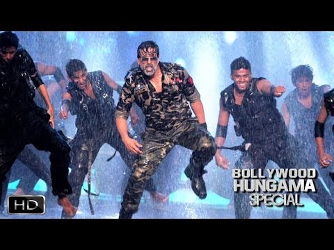 Akshay Kumar Dazzles With Holiday At Zee Cine Awards 2014
