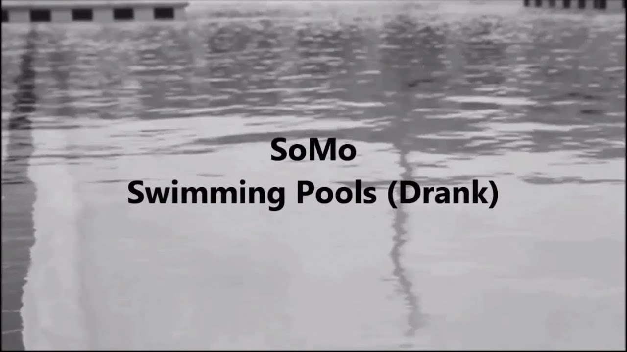 Kendrick Lamar Swimming Pools Drank Rendition By Somo Youtube