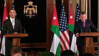 President Obama and His Majesty King Abdullah II Host a Press Conference  03/22/13