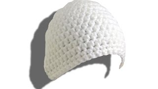 Crochet hat tutorial (half double crochets)