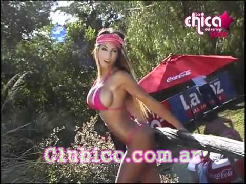 Cinthia Fernandez Models Mini Thong Bikini Bikini