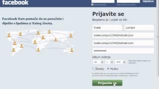 Kako Napraviti Facebook Profil (2015)