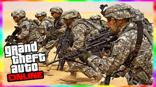 GTA 5 Army 1.17 DLC: NEW 9 Face Paints, Hydra, Vertical
