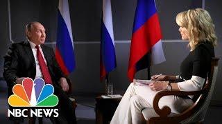 President Vladimir Putin On Russian Election Interference (Full Report) | Megyn Kelly | NBC News