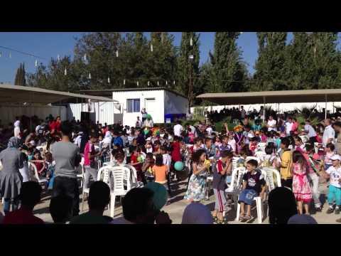 Eid Games for Syrian Refugee Children in Turkey 2012