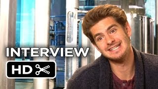 The Amazing Spider-Man 2 Interview Andrew Garfield (2014