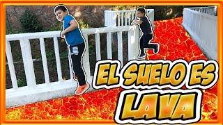THE FLOOR IS LAVA   EL SUELO ES LAVA   ALEX5GAMER