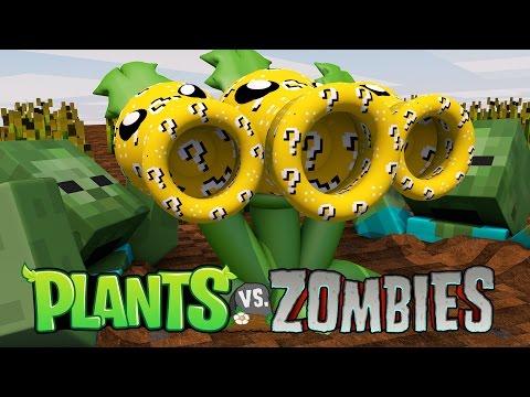 Minecraft | LUCKY BLOCK PLANTS VS ZOMBIES BOSS CHALLENGE!