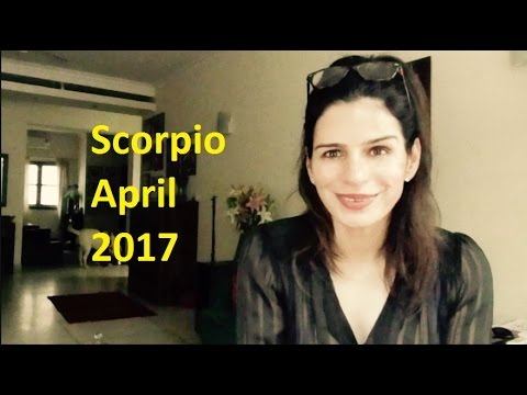 SCORPIO APRIL ASTROLOGY 2017| Tarot by Anisha