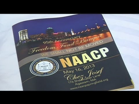 NAACP membership banquet held at Chez Josef