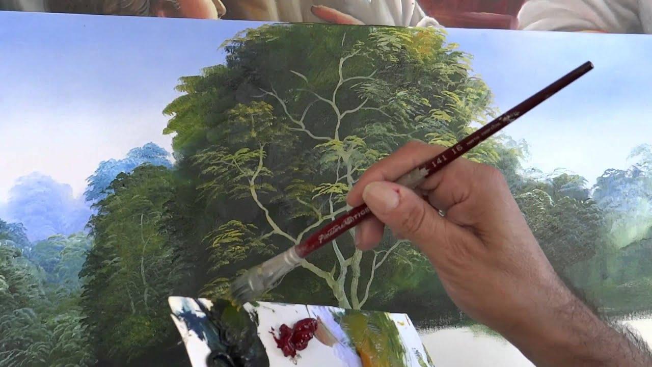 Dica para pintar rvores youtube - Telas para sombra ...