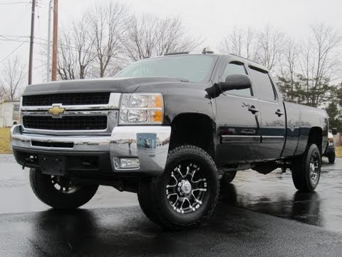 2008 Chevy 2500HD LTZ 4X4 LIFTED LONGBED DURAMAX LOADED!!! BAD ASS!!! SOLD!!!