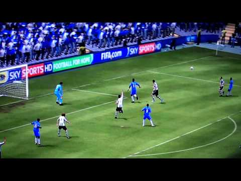 FIFA 10 ()DIAGONAL BICYCLE-KICK()