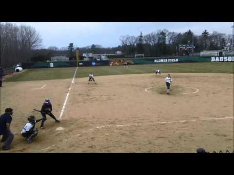 Babson Softball vs. Emerson (4/11/14)