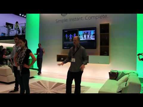 Microsoft demos what the new Kinect sensor is capable of at E3 2013