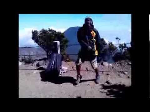 Joget Cesar di Gunung Gede Pangrango