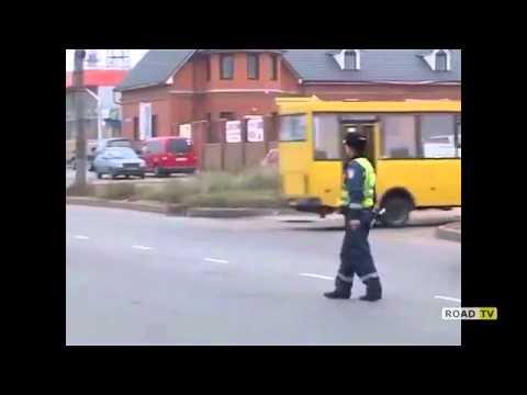 Столкновение грузовика  Jac и ВАЗа 21121