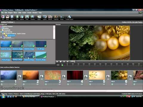 Làm slideshow hình ảnh bằng ProShow Producer - Phan 1