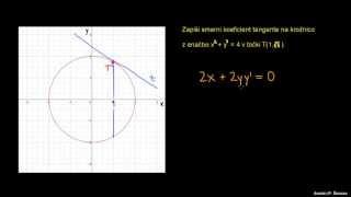 Odvod implicitne funkcije 1