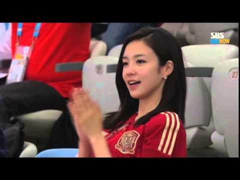 Yewon - Nữ MC quyến rũ nhất mùa World Cup 2014 của Hàn Quốc